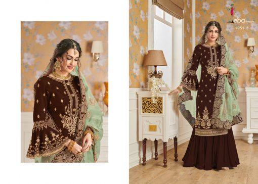Hurma Vol 10 Gold Designer Faux Georgette Embroidered Salwar Kameez 5