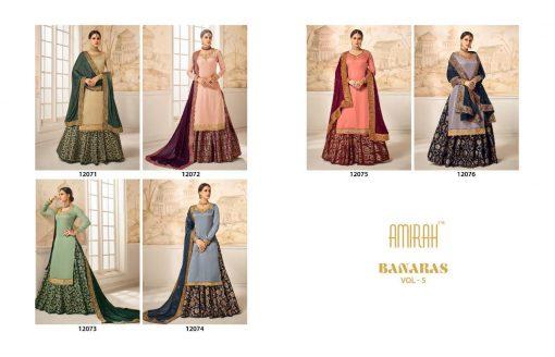 amirah banaras vol 5 indian designer latest salwar kameez catalog supplier 10