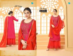 glamour by your choice georgette sharara style salwar kameez online price 11